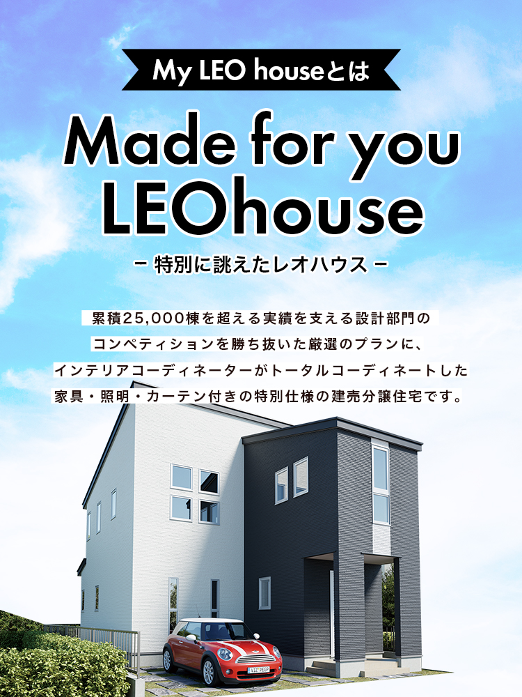 My LEO house 家具付き建売住宅